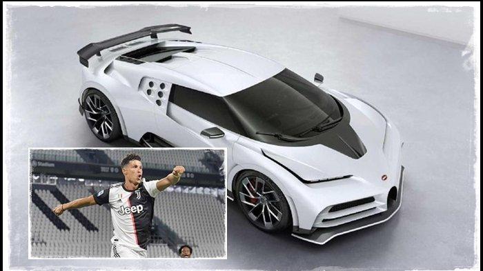 Berita Terbaru Juventus, Harga Mobil Super Langka Cristiano Ronaldo Tak Masuk Akal, Setara Formula 1