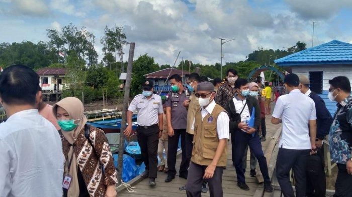 Pejabat BNPP Tinjau ke Nunukan Titik Perbatasan RI-Malaysia, Tidak Mau Terjadi Penangkapan WNI Lagi