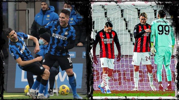 Liga Italia AC Milan vs Inter Milan, Conte Sesumbar Bakal Nyanyi di San Siro, Pioli Tak Tinggal Diam