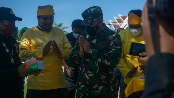 Pangdam VI/Mulawarman Mayjen TNI Heri Wiranto Sambangi Kutim, Tinjau Penanggulangan Covid-19 Daerah