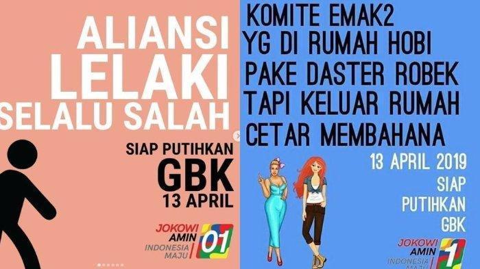 Kampanye Akbar Jokowi-Ma'ruf Sabtu Siang, Ini Deretan Meme Kocak di Instagram yang Siap Putihkan GBK