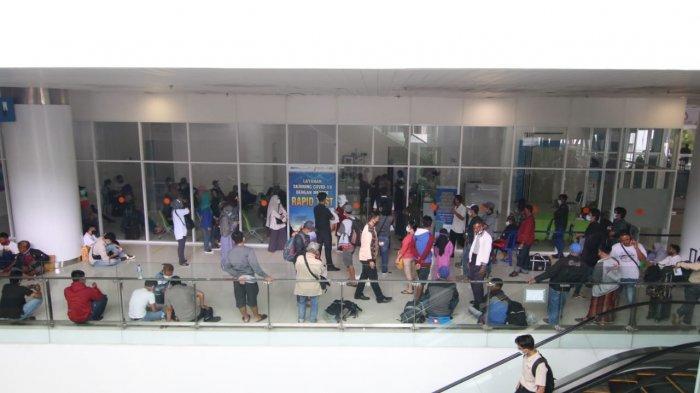 Murah, Alasan Penumpang Lakukan Rapid Test Antigen Covid-19 di Bandara SAMS Sepinggan Balikpapan