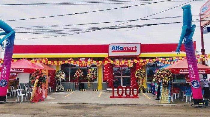 Ekspansi ke Negaranya Presiden Rodrigo Duterte, Alfamart Buka Gerai ke-1000, Serap 8 Ribu Pekerja