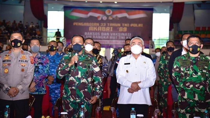 Pengabdian 33 Tahun TNI-Polri, Altar Akabri 89 Gelar Vaksinasi dan Bakti Sosial