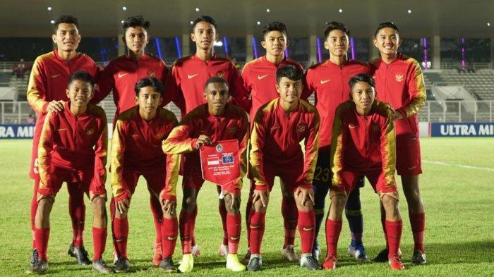 SEDANG BERLANGSUNG Live Streaming Timnas U-16 Indonesia vs China, Skor Masih 0-0