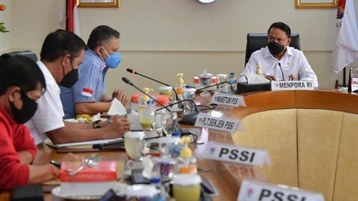 Jelang Piala Menpora 2021 Bergulir, Menpora Minta PSSI Lapor Terlebih Dahulu ke Gibran Rakabuming