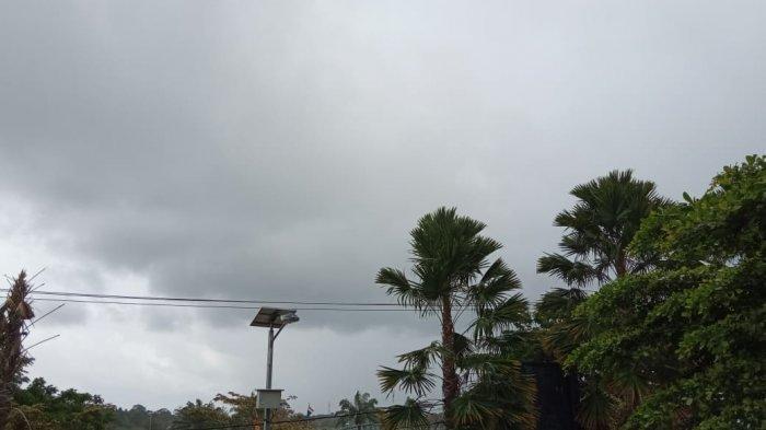 Ilustrasi suasana mendung di Tanjung Selor, Bulungan, Kaltara, TRIBUNKALTARA.COM / MAULANA ILHAMI FAWDI