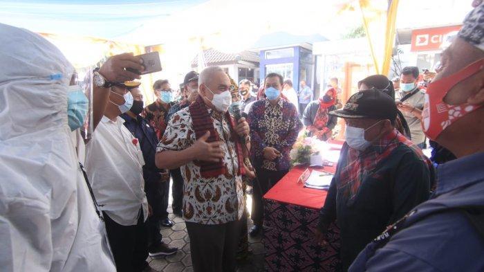 Gubernur Kaltim Tinjau Pencoblosan di Samarinda dan Kukar, Isran Noor: Bagus Saja Itu.