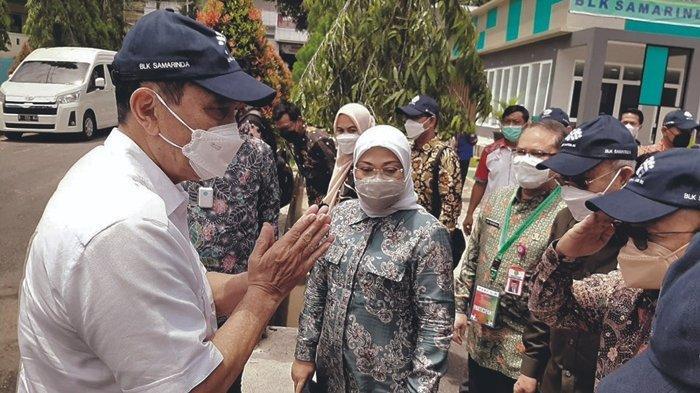 Menko Luhut Kunjungi BLK Samarinda, Roby: Program Pusat Selaras dengan Kebijakan Gubernur
