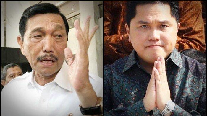 Menteri Jokowi Minta Maaf, PPKM Darurat Jawa-Bali Belum Maksimal, Tengok Gaya Luhut dan Erick Thohir
