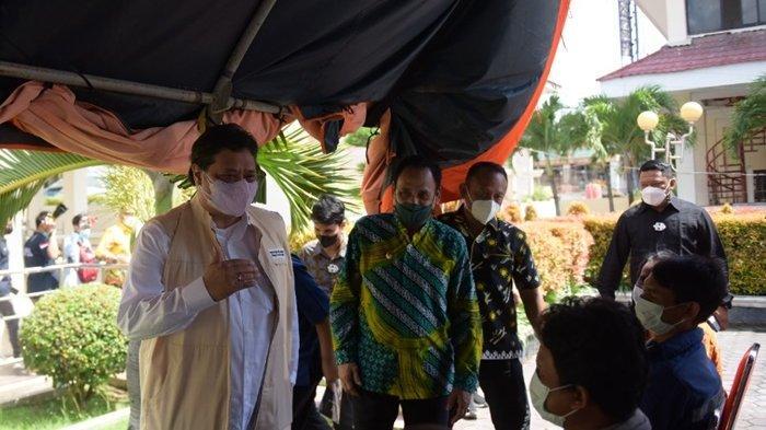 Menko Airlangga: Atasi Covid-19 di Provinsi Sulawesi Tengah dengan Replikasi Sukses Kampung Tangguh