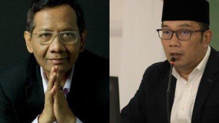 Tak Tinggal Diam, Mahfud MD Balas Ridwan Kamil, Jelaskan Diskresi Pemerintah Jokowi ke Habib Rizieq