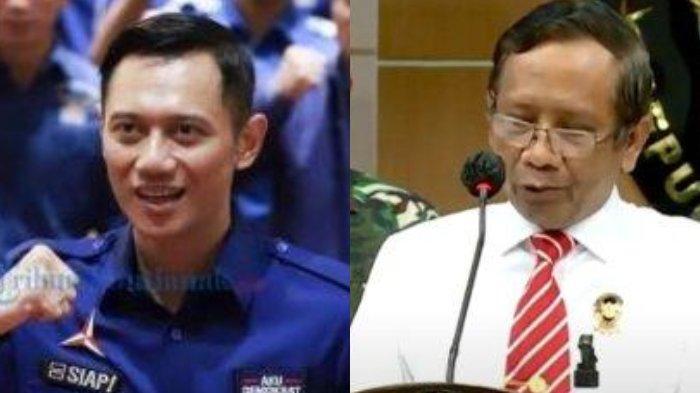 Akhirnya AHY Temui Mahfud MD, Anak SBY Bongkar Kejanggalan KLB Versi Moeldoko, Beber AD/ART Demokrat