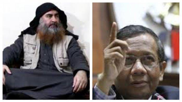 Menkopolhukam Mahfud MD Beber Radikalisme Abu Bakar al-Baghdadi Ada Dalam Bentuk Ini di Indonesia