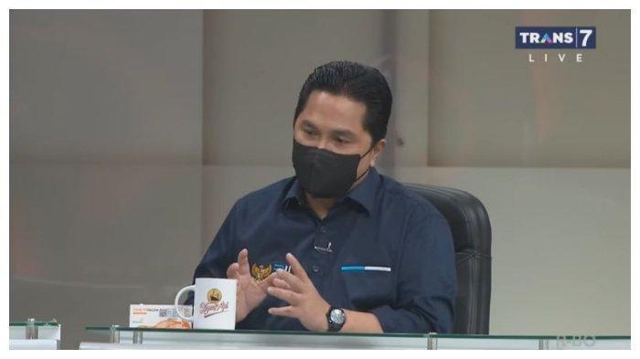 Erick Thohir Buka-bukaan di Mata Najwa Tadi Malam,Pastikan Jokowi Disuntik Vaksin, Bukan Vitamin C