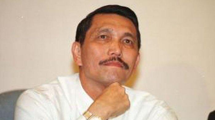 Reaksi Lucu Pembantu Jokowi Disinggung 4L, Bukan Girlband Korea, Luhut Binsar: Karena Kerja Banyak