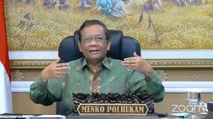 Mahfud MD Umumkan Penghentian Kegiatan FPI, SKB Ditandatangani Menteri dan Kapolri