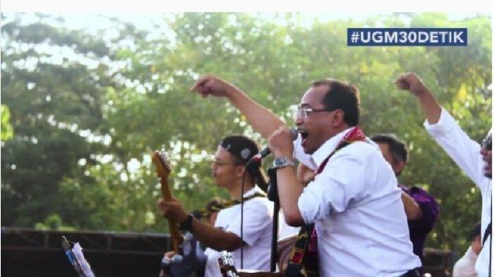Keren, 3 Menteri Jokowi Main Band Bareng, Aksinya Bikin Penonton Joget-joget