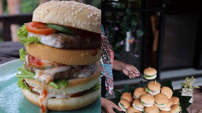 Menikmati Kelezatan 11 Menu Burger di CB Food, Pilih yang Mini atau Monster Burger Berukuran Jumbo