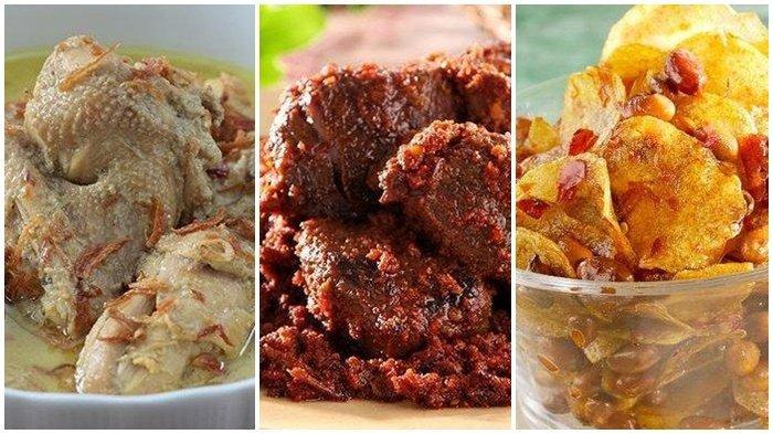 Menu Lebaran Spesial, Opor Ayam, Rendang Daging hingga Kering Kentang Kacang, Simak Resepnya