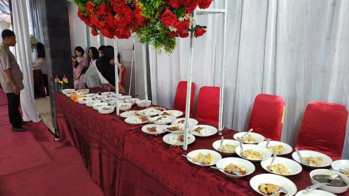 Menu Makanan yang Disiapkan pada Open House Kapolda Kaltara Brigjen Pol Indrajit, Ada Coto Makassar