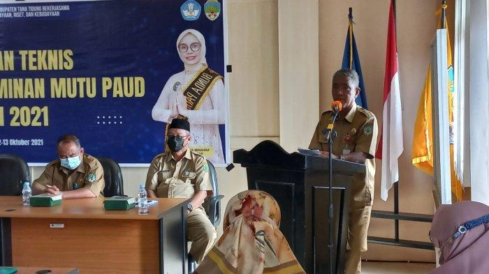 Wujudkan SDM Berkualitas, Kepala Disdikbud Tana Tidung Jafar Sidik Dorong PAUD Bermutu