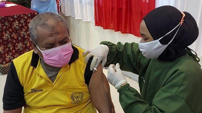 Vaksinasi Covid-19 di Balikpapan Bagi Warga Binaan Lapas Klas IIA, 800 Dosis Disalurkan