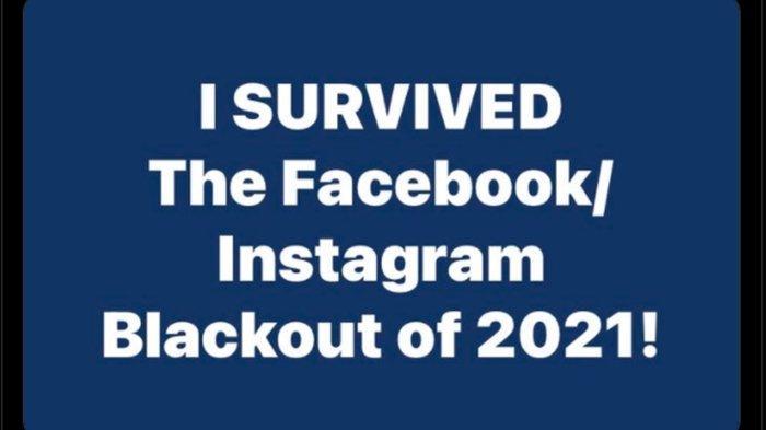 Meme dan guyonan warganet saat Facebook, WhatsApp, dan Instagram down.