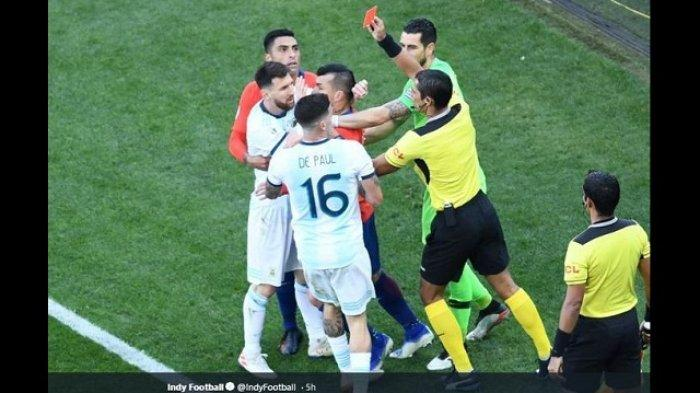 Marah Besar, Lionel Messi Sebut Copa America 2019 Diatur untuk Kemenangan Timnas Brasil