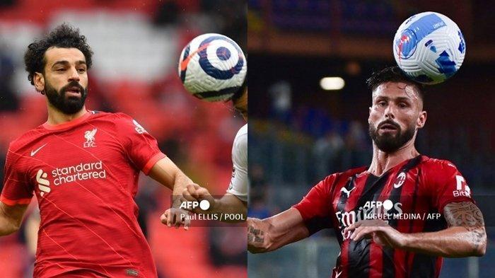 Link Streaming & Jam Tayang Liga Champions Malam Ini: BIG MATCH Liverpool vs AC Milan, Live SCTV