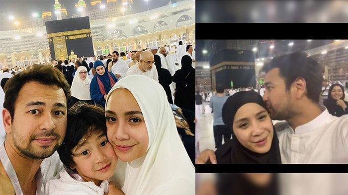 Merinding, Ultah di Hari yang Sama Raffi Ahmad dan Nagita Slavina Ucapkan Syukur di Depan Kakbah