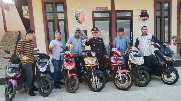 Kakak Beradik di Samarinda Kompak Mencuri, 16 Motor Digasak dan Dijual via Facebook