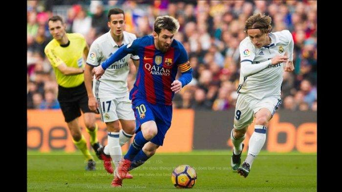 Real Madrid Vs Barcelona - El Real Kalah, Media Ibukota Spanyol Jelek-jelekkan Lionel Messi