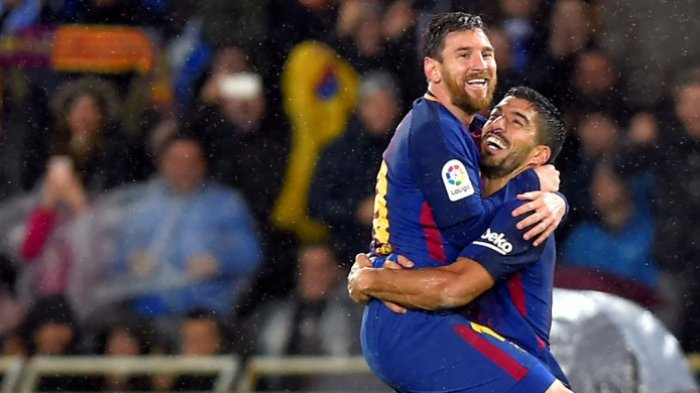 Diincar Klub Amerika Serikat, Luis Suarez Curhat ke Lionel Messi