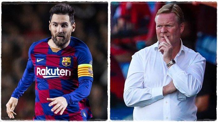 Terkuak Isi Pembicaraan 4 Mata dengan Lionel Messi, Ronald Koeman Hanya Jalankan Keinginan Barcelona