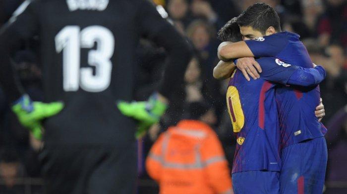 Perkasa di Camp Nou, Hujan Gol Barca Diborong Messi, Suarez, dan Coutinho