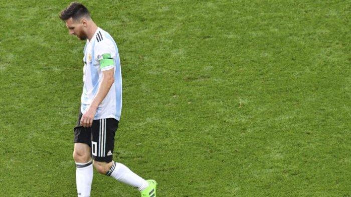 Media Argentina Ungkap Perilaku Buruk Messi pada Pelatih Tim Nasional