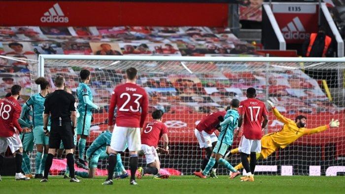 SKOR 1 - 0! TONTON Live Streaming Manchester United vs Newcastle di Link Mola TV dan Cek Live Score