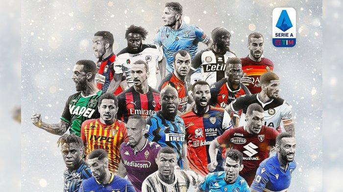 TERBARU Jadwal, Klasemen & Top Skor Liga Italia, AC Milan vs Inter Milan, Juve Lawan Tim Juru Kunci