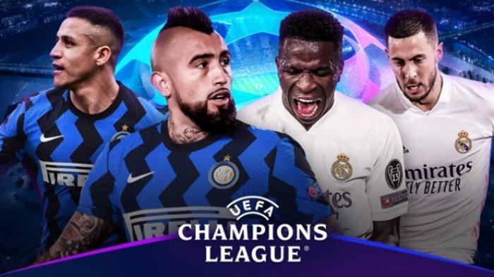 Susunan Pemain & Jadwal Tayang Liga Champions Malam Ini: Inter Milan vs Real Madrid, Live TV Online