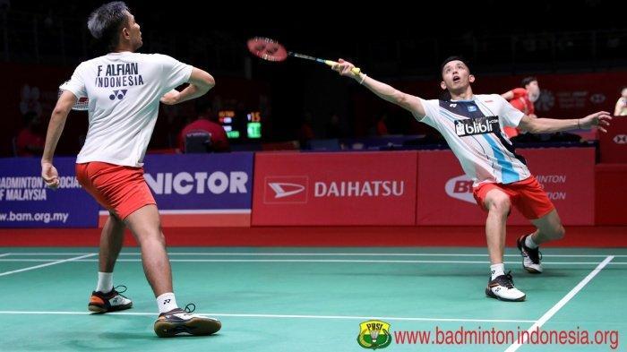 Rahasia Minions Marcus/Kevin Melaju ke Final Terbongkar, Live Streaming TVRI Indonesia Masters 2020