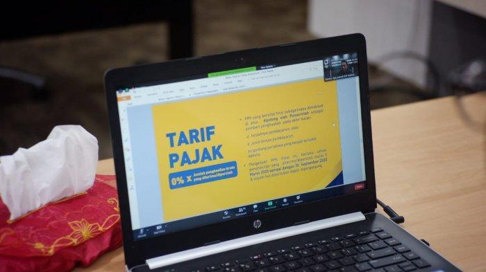 Kanwil DJP Kaltimtara Beber UU Cipta KerjaKlaster Kemudahan Berusaha di Bidang Perpajakan