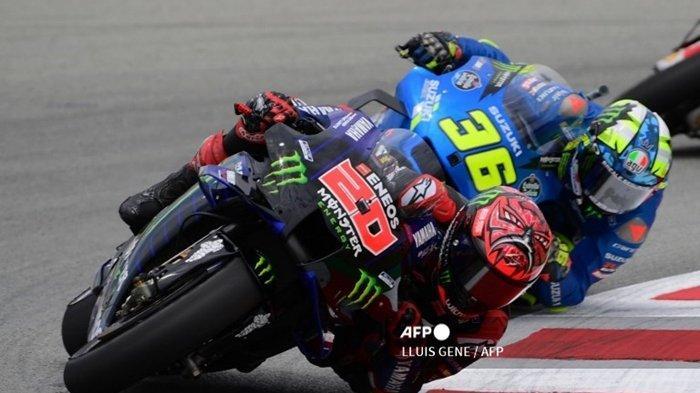 Live, Siaran Langsung MotoGP Aragon 2021, Joan Mir Menyerah, Tapi Sindir Quartararo, Hasil FP 1 & 2