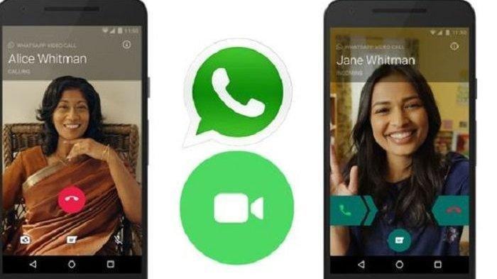Ini Cara Mudah Melakukan Obrolan Lewat Video di Aplikasi WhatsApp hingga 50 Orang Tanpa Batas Waktu