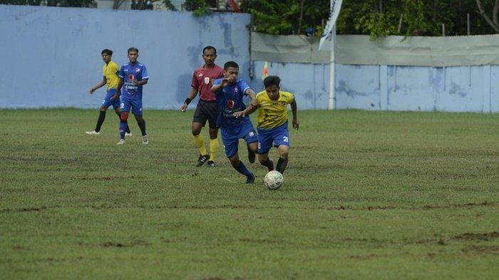 Menang 2-0 dari Ababil, Mitra Teras Kokoh di Puncak Klasemen Grup G Danlanud Dhomber Cup XXIV