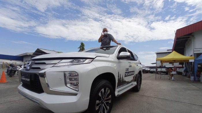 PT Mandau Berlian Sejati, dealer resmi Mitsubishi di Balikpapan memperkenalkan unit terbaru dan test drive New Pajero Sport ke mitra bisnis mereka PT Transkon Jaya Tbk. Kamis (8/4/2021).