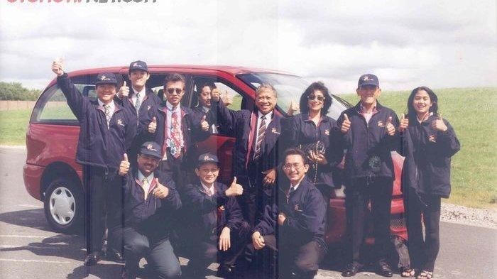 Rekrut Lima Perusahaan, Aburizal Bakrie Pernah Bikin Mobil Nasional Bakrie B-97