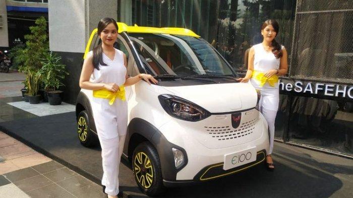 VIDEO Interior dan Eksterior Mobil Listrik Wuling Mungil Ramah Lingkungan, Hadir di IEMS 2019
