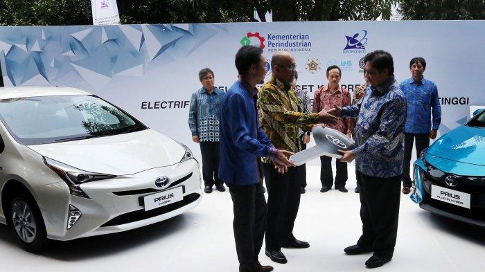 Kemenperin Gandeng Toyota Riset Mobil Listrik