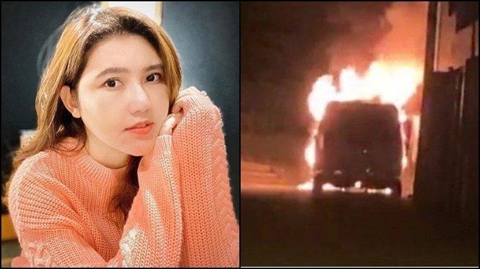 Kabar Buruk Via Vallen Diteror, Mobil Alphard Miliknya Sengaja Dibakar Orang Tak Dikenal